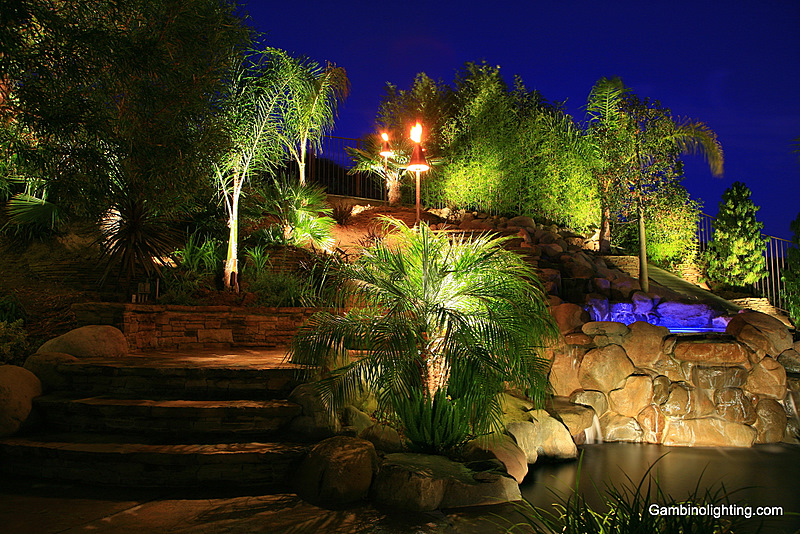 gambino landscape lighting custom built landscape lighting systems