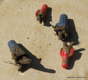 Gambino Landscape Lighting | Poor wire splices are a big problem ...