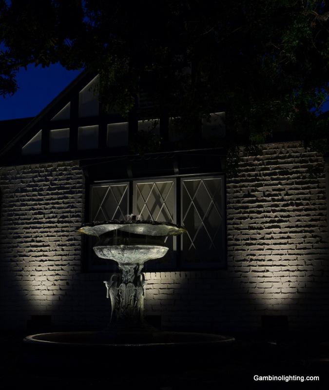Garden lighting textures | Gambino Landscape Lighting
